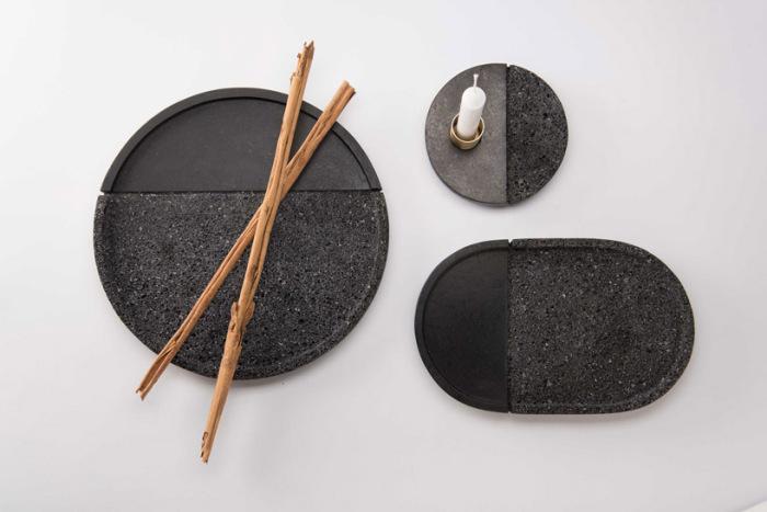 Дизайнерские тарелки от Peca Studio и Ana Saldana.