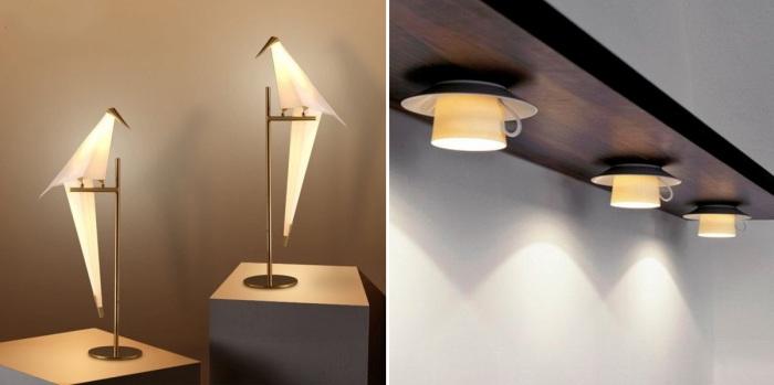Потрясающие светильники, удивляющие своим дизайном.