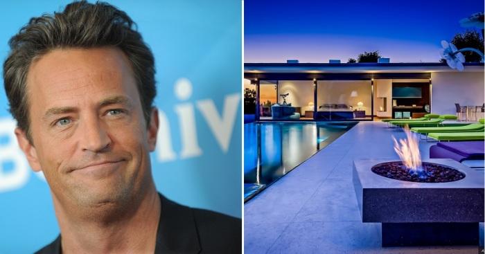 Стеклянный дом знаменитого американского киноактера Мэтью Перри (Matthew Perry), который большинству зрителей знаком благодаря популярному телесериалу «Друзья» («Friends»).