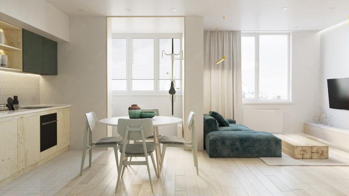 Пропорции мебели должны совпадать с пропорциями помещения.