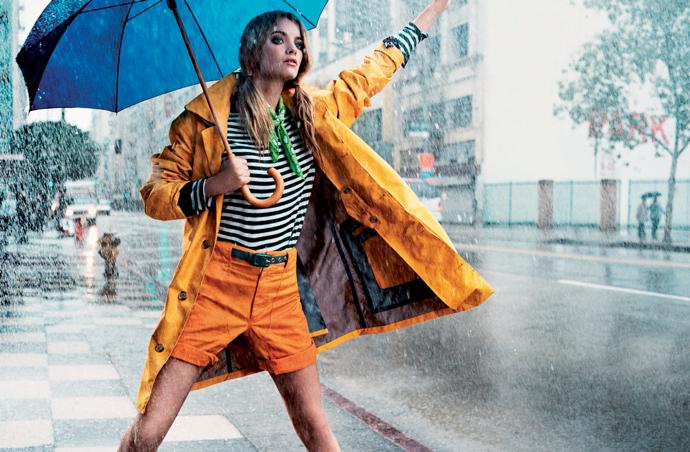 Стильные женщины всегда подбирают одежду в зависимости от погодных условий.
