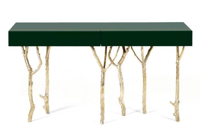 Оригинальная дизайнерская мебель из дерева.