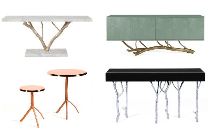 Мебель ручной работы, вдохновленная природой.