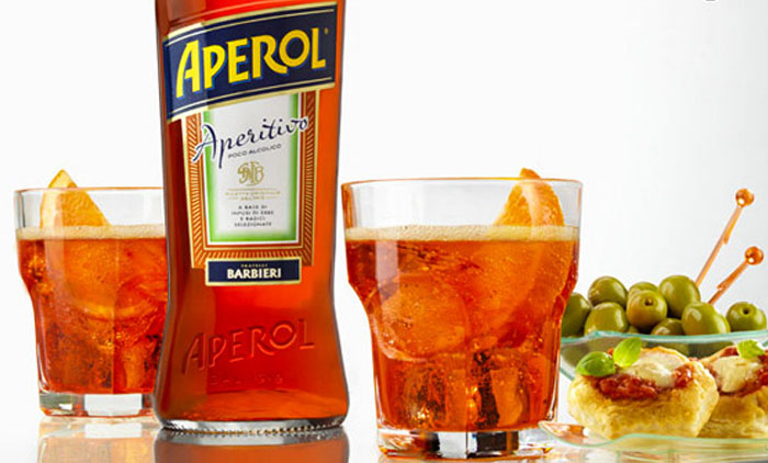 Традиционный итальянский напиток «Aperitivo».