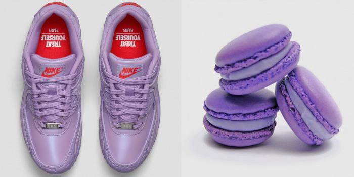 Новая «съедобная» коллекция кроссовок от «Nike».