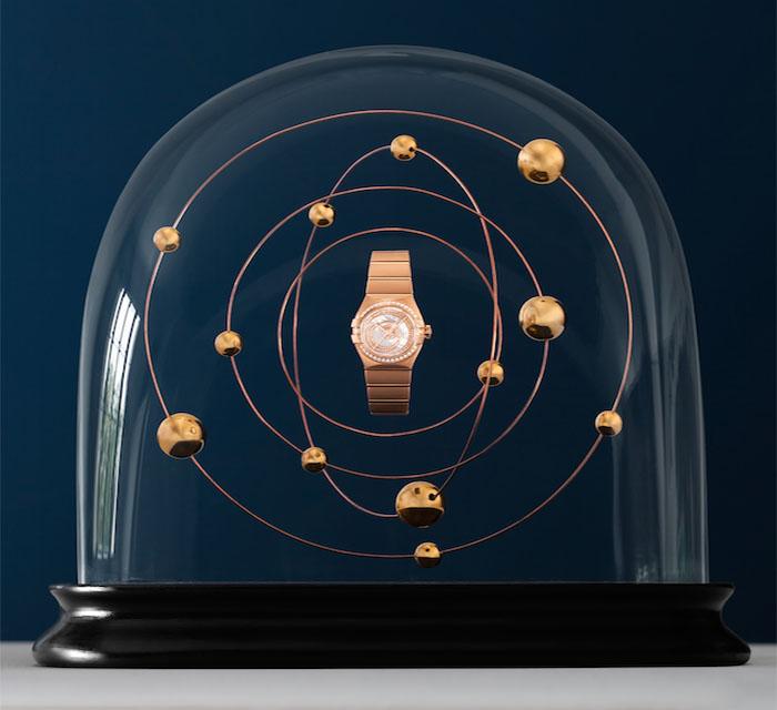 Известный бренд Omega представил рекламную кампанию новой коллекции часов