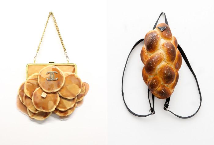 Хлебные брендовые сумки в поекте Bread bags от Chloe Wise (Хлои Вайз).