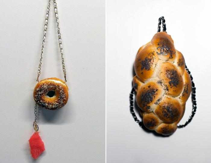 Аппетитные сумки в поекте Bread bags от Chloe Wise (Хлои Вайз).