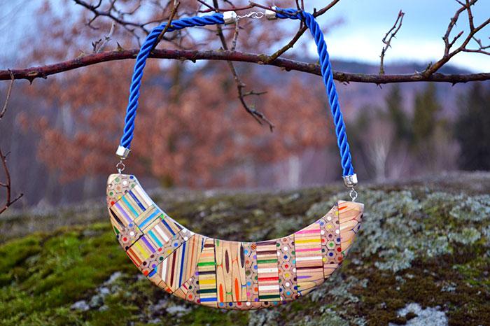 Яркие и стильные украшения ручной работы от дизайнера из Чехии Анны Курлежовой (Anna Сurlejovа).