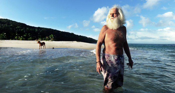 Дэвид Глэшин - житель острова Возрождения близ австралийского побережья.
