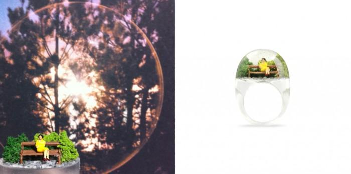 Кольца, внутри которых есть жизнь.