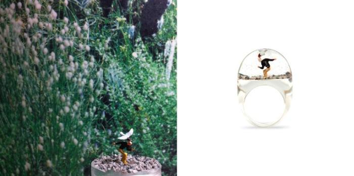 Кольца ручной работы Shannnam.