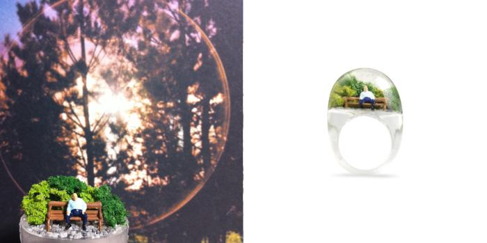 Каждое кольцо - это маленькая жизнь.