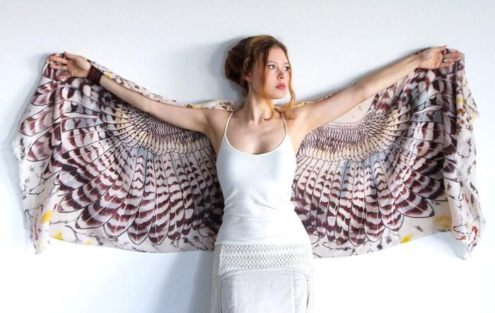 Платки-крылья от Shovava