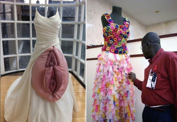 Очень странные платья, которые никого не оставят равнодушным.