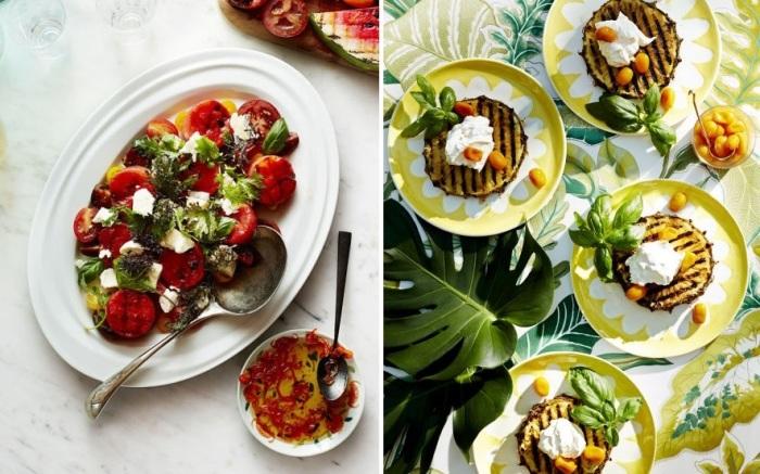 Летняя вечеринка на природе подразумевает разнообразное меню из блюд, приготовленных на гриле.
