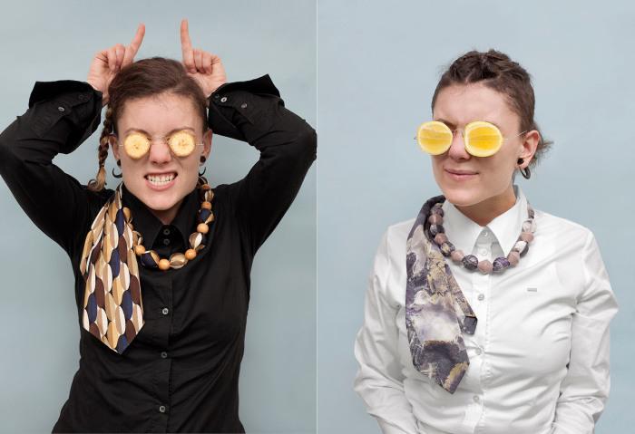 Галстуки, созданные специально для женщин