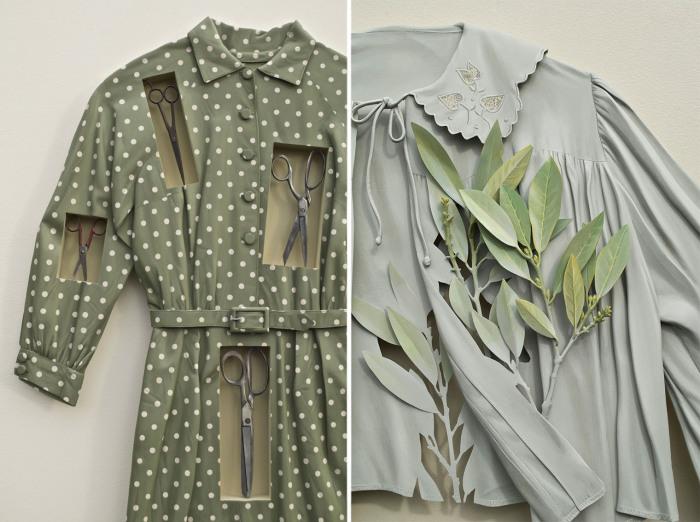 Потрясающие наряды из необычного материала - финской березы.