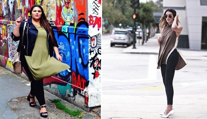 В тунике с боковыми разрезами девушка с любым типом фигуры будет чувствовать себя стильно и комфортно.