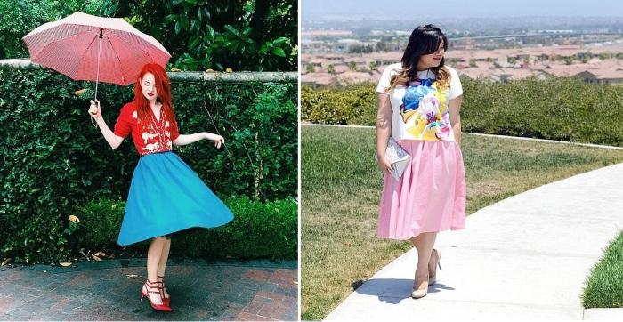 Модные вещи, которые подойдут девушкам с разными размерами одежды.