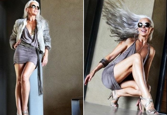 Женщина, которая доказала, что карьеру успешной модели можно строить не только с четырнадцати, но даже с сорока лет.