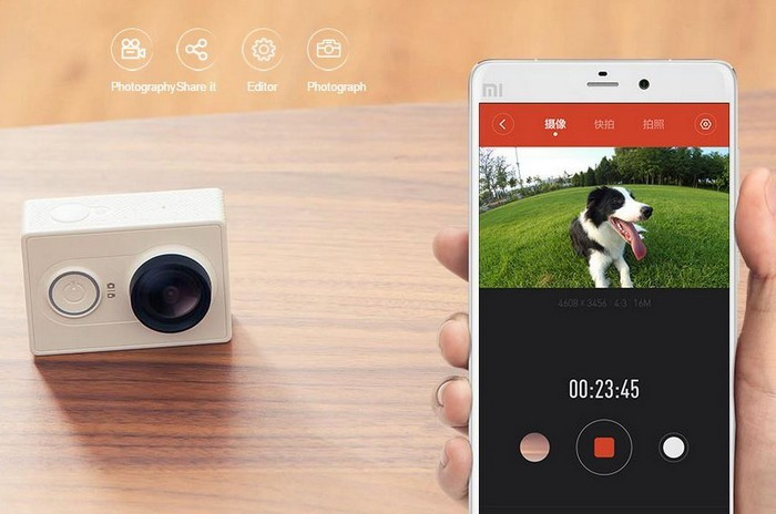 Action-камера Xiaomi Yi Action Camera