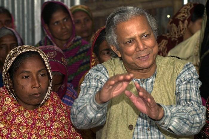 Бангладешский банкир Мухаммед Юнус