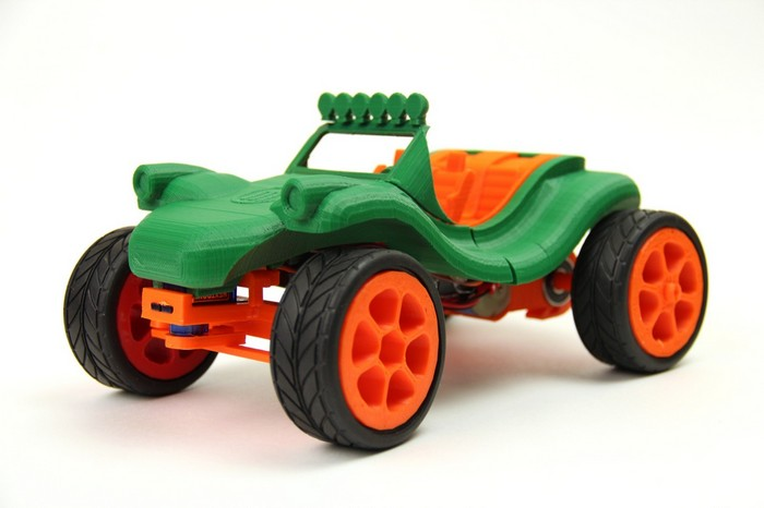 Детские игрушки, напечатанные на 3D-принтере