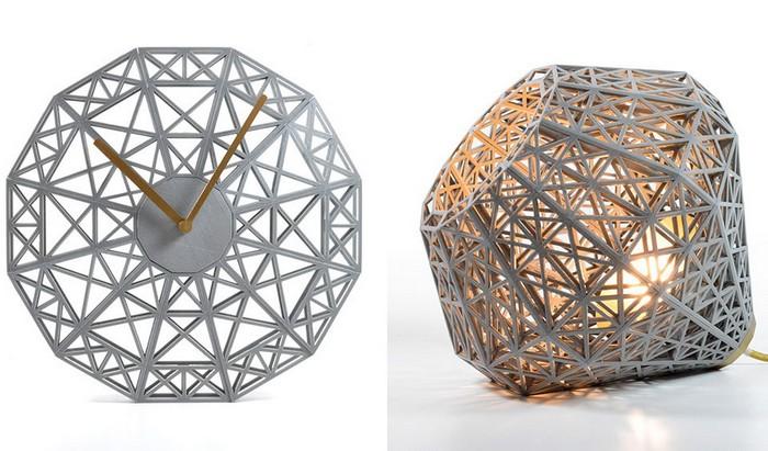 Мебель и фурнитура, напечатанные на 3D-принтере