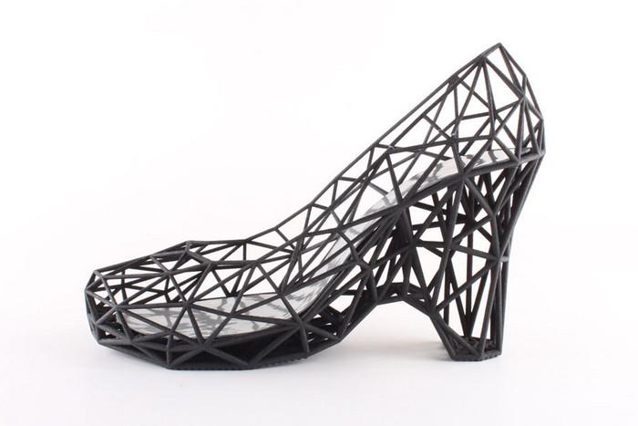 Модная обувь, напечатанная на 3D-принтере
