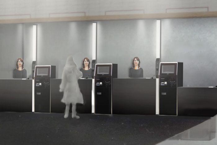 Отель Henn-na Hotel в Нагасаки с роботами-администраторами