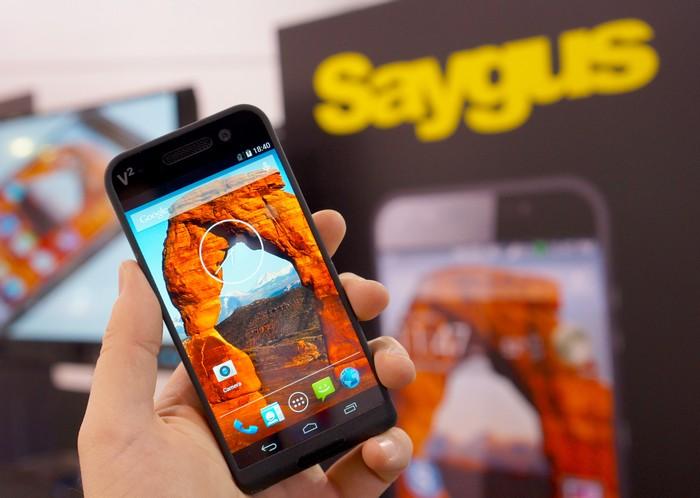 Суперсмартфон Saygus V2 - лучший мобильный телефон 2015 года