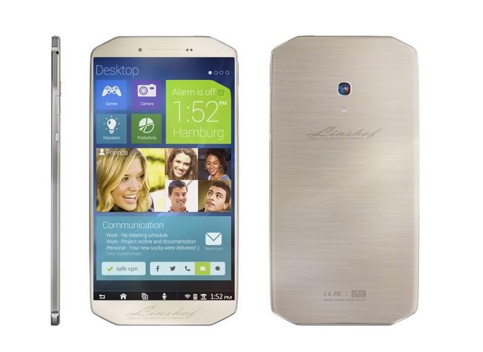 Linshof i8 – лучший европейский смартфон