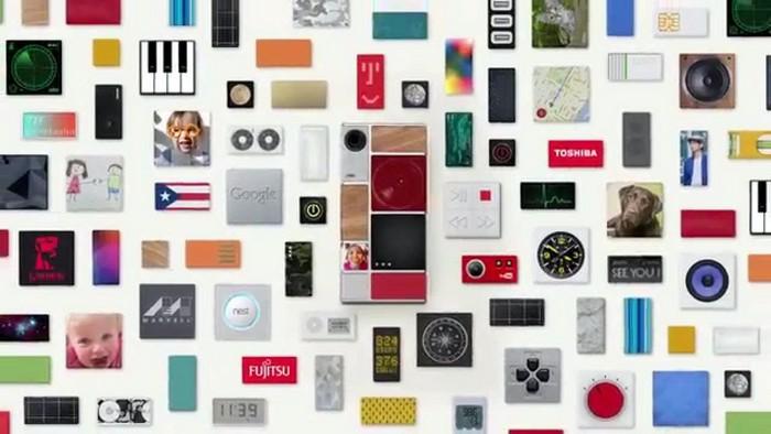 Модульный смартфон Project Ara от Google