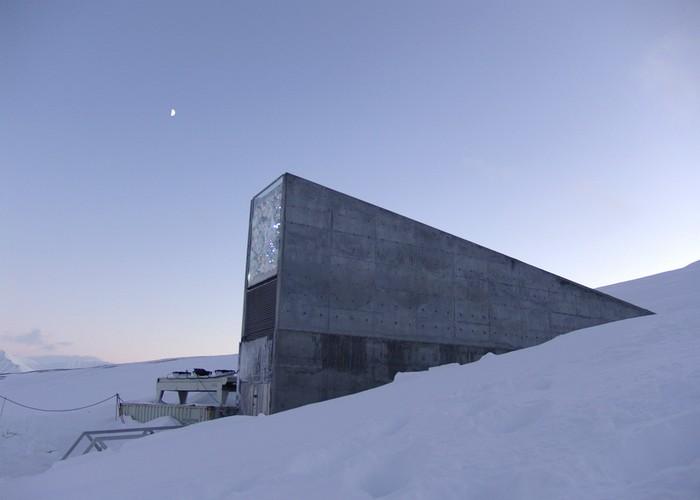 Хранилище Судного дня на Шпицбергене