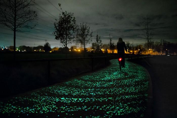 Van Gogh Bike Path – солнечная велодорожка в Нидерландах