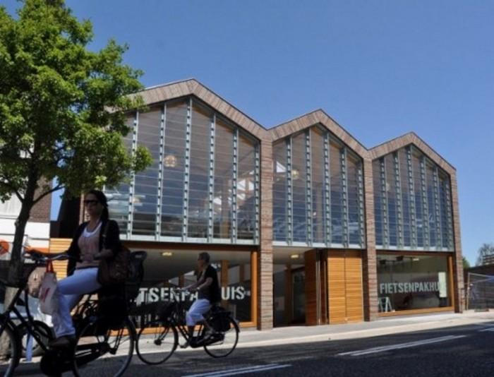 Многоэтажный паркинг для велосипедистов