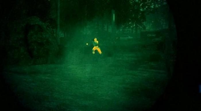 Ночное видео при помощи капель Chlorin e6