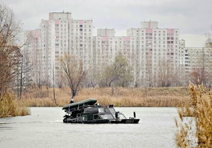 УМКА – гражданский вездеход для поездок на охоту и рыбалку