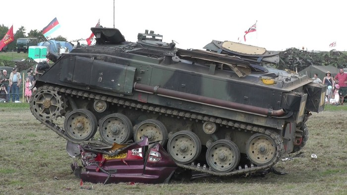 Частный танкодром недалеко от Вильнюса в Литве