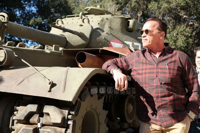 Личный танк M47 Patton Арнольда Шварценеггера