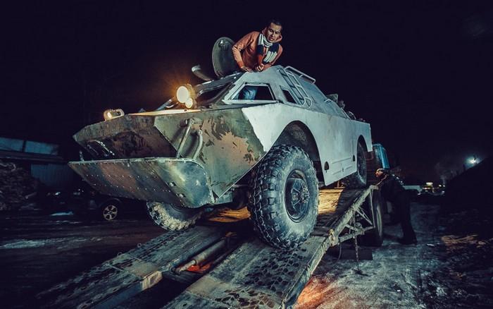 Личное авто на основе БРДМ-2 для жителя Москвы