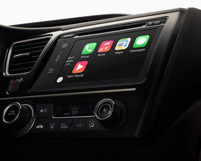 CarPlay - операционная система iOS для автомобилей