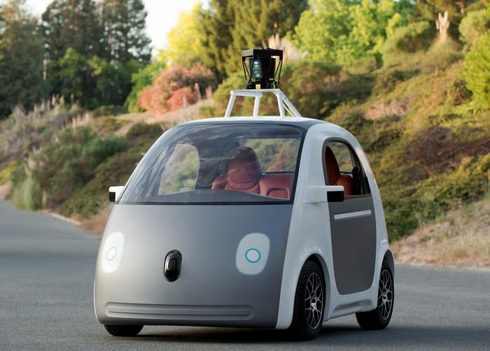 Беспилотный электромобиль Google Self-Driving Car