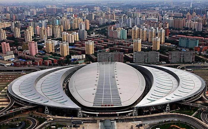 Вокзал в Пекине для скоростных поездов
