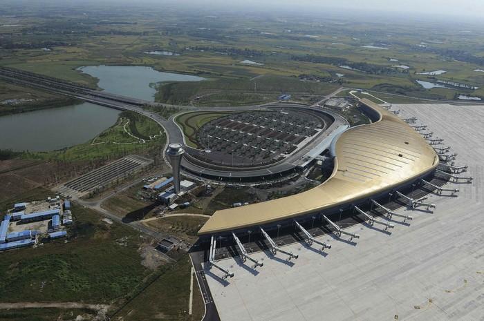 Аэропорт в городе Хефей