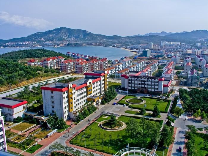 Университетский кампус в Китае