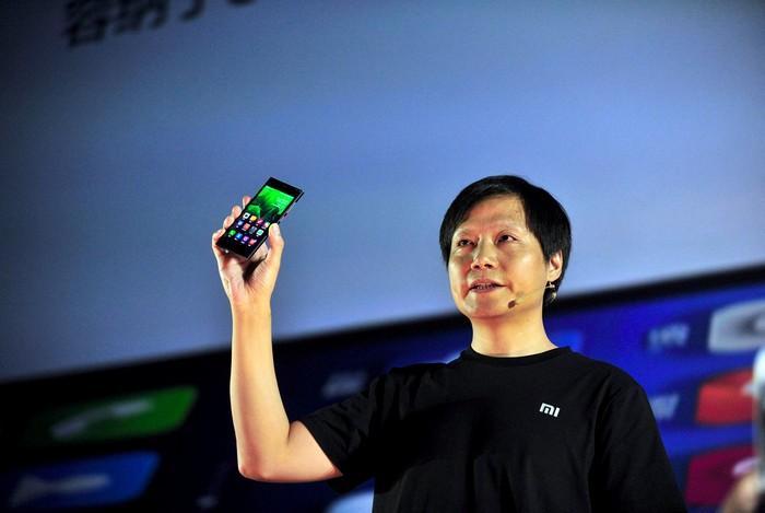 Презентация нового смартфона от компании Xiaomi