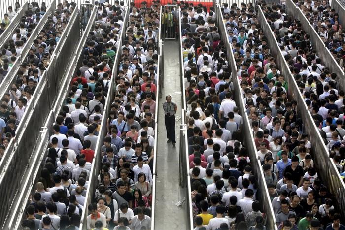 Очередь в Китае