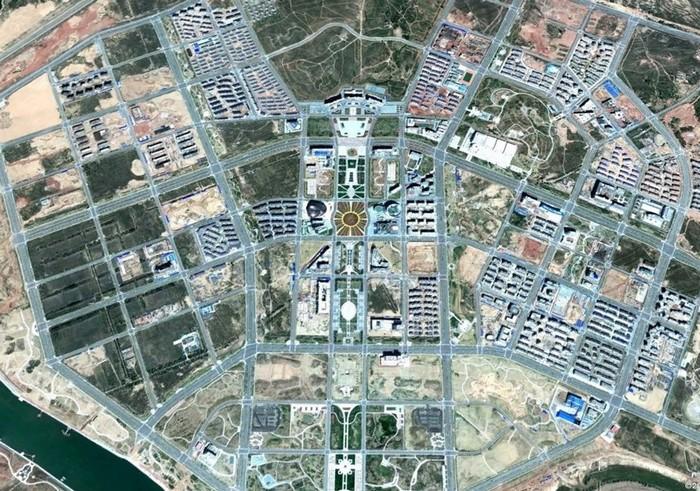 Построенный с нуля город в Китае